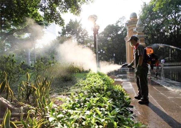 西安景区蚊蝇处理