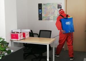 西安办公室消毒